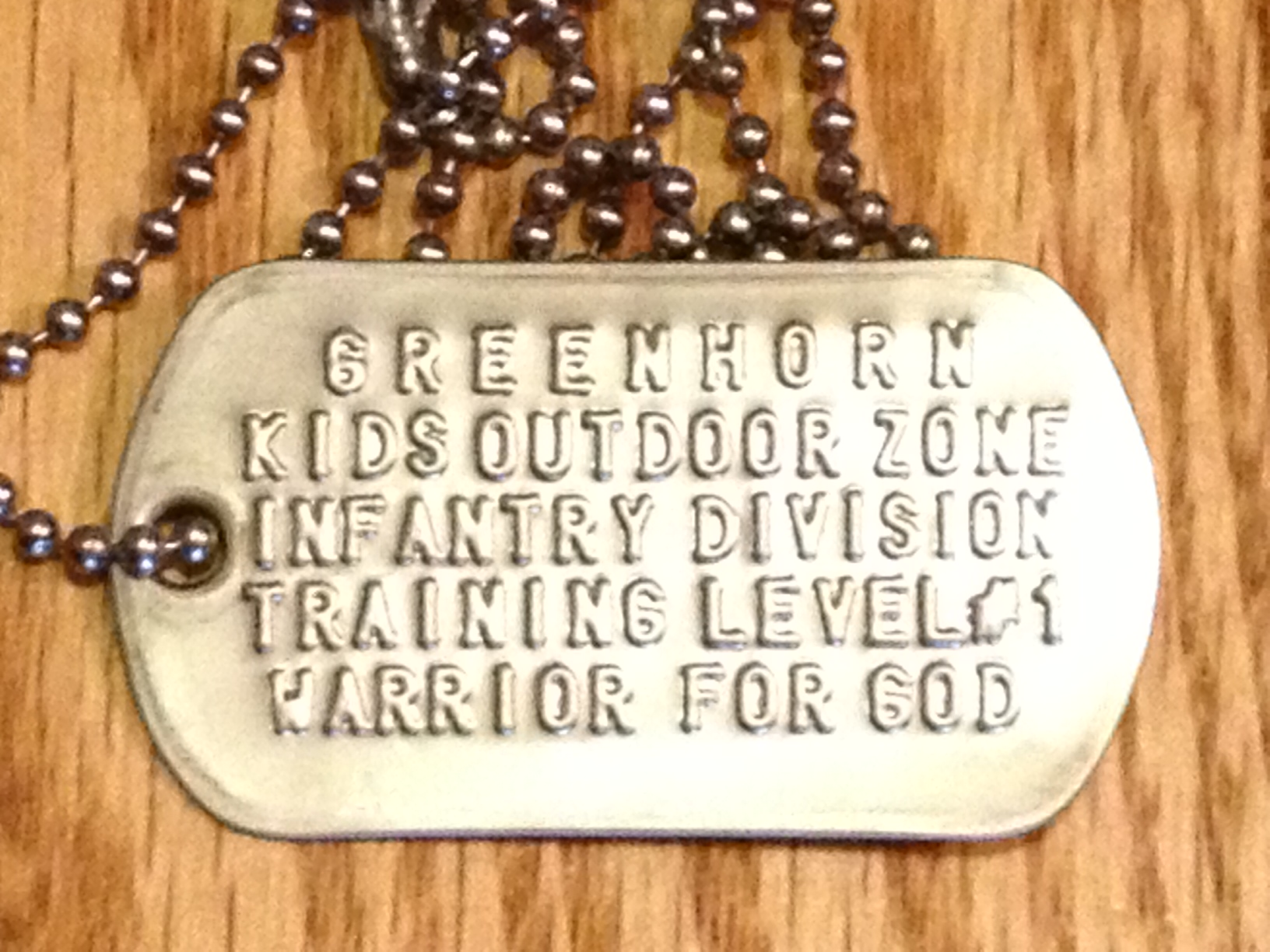 Wondrous Level 1 Greenhorn Dog Tag Download Free Architecture Designs Intelgarnamadebymaigaardcom